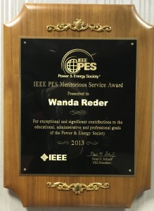 IEEE PES Meritorious Service Award