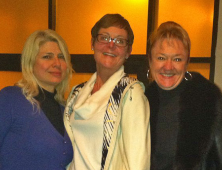 Marina Ruggieri, IEEE Division IX Director, Susan K. (Kathy) Land, Wanda